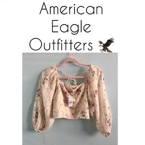 🏷 - American Eagle  🦅 Outfitters- Crop Top NWT…